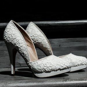 Call it Spring Lace Pump